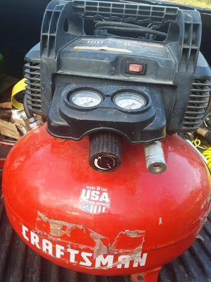 Craftsman electric air compressor 150 psi 6 gallon for Sale in Brandon, MS