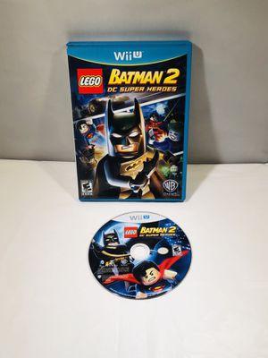 Batman 2 dc super heroes Nintendo Wii U no manual for Sale in Long Beach, CA