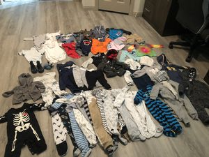 Lot of baby clothes for winter for Sale in Las Vegas, NV