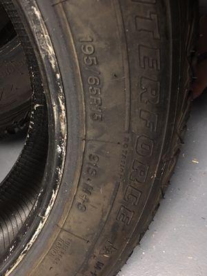 Tires ( 2 Firestone 195/65/15) for Sale in Lilburn, GA