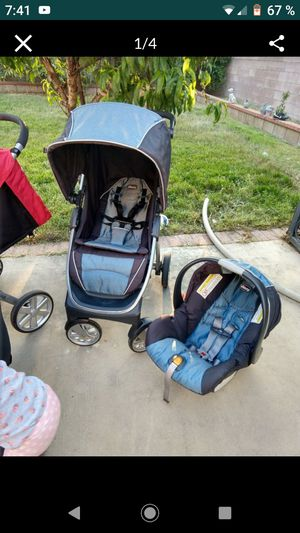 Stroller Chicco and car seat for Sale in San Bernardino, CA