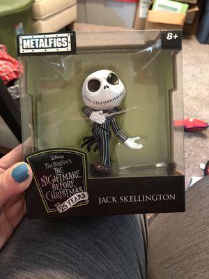 Disney Jack Skellington Metalfigs for Sale in Suwanee, GA