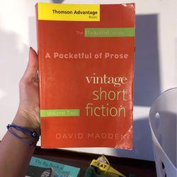 A Pocket Full Of Prose: Vintage Short Fiction for Sale in San Diego,  CA
