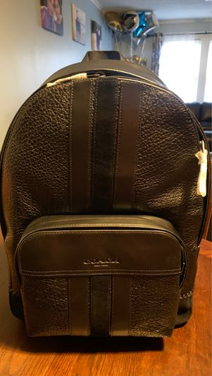 Coach men backpack for Sale in Durham, NC