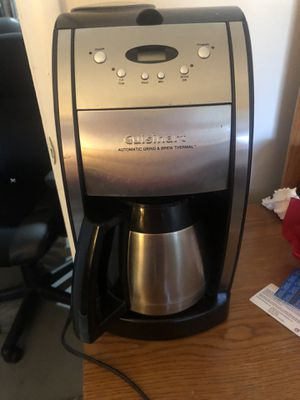 Cuisine art coffee make with bean grinder for Sale in Lancaster, PA