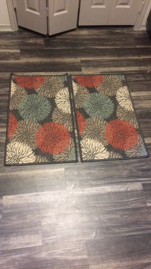 (2) 3x2 kitchen rugs for Sale in Austin, TX