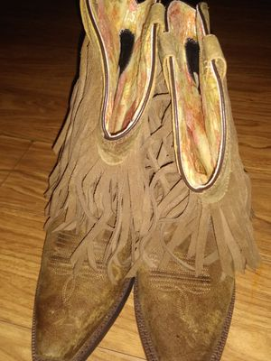 Ariat boots with fringe for Sale in Roseville, CA