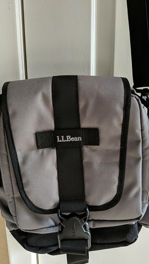 LL Bean Grey canvas shoulder bag for Sale in Las Vegas, NV