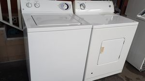 Washer and gas dryer super capacity plus excellent conditions! for Sale in Paramount, CA