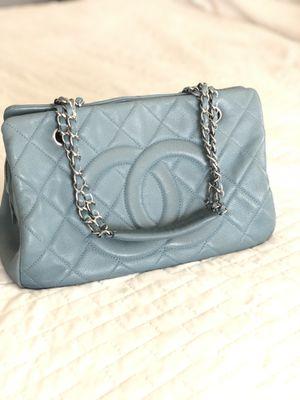 CHANEL Shoulder Bag Blue Color $1100 for Sale in San Marcos, CA
