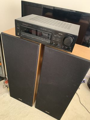 Amplifier and speakers set for Sale in Marietta, GA