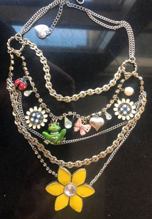 Betsey Johnson necklace for Sale in Las Vegas, NV