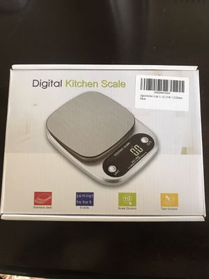 Digital Kitchen Scale- Brand New for Sale in Colorado Springs, CO
