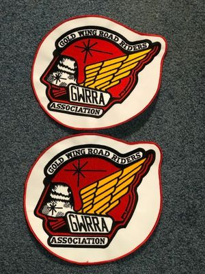 "2 Gold Wing Patches 9"" x 9.5"" for Sale in Smyrna, TN"