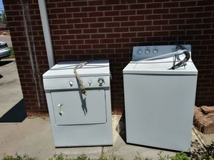Washer and dryer for sale!!!! 150 O.B.O for Sale in Denver, CO