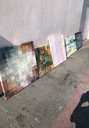 Canvas paintings for Sale in San Diego, CA