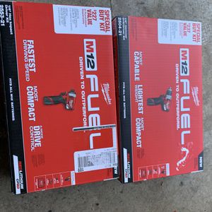 M12 Fuel Hammer Drill And M12 Fuel Impact Driver $ Brand New $140 Each for Sale in Lombard, IL