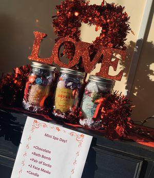 Valentines Mason Jar for Sale in Visalia, CA