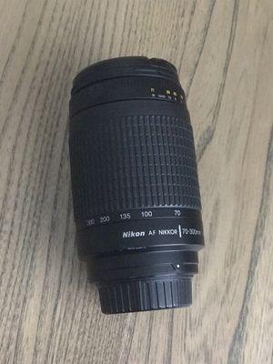Nikon 70-300mm f/4.5-5.6G AF VR Nikkor Zoom Lens for Nikon Digital SLR Cameras for Sale in Tampa, FL