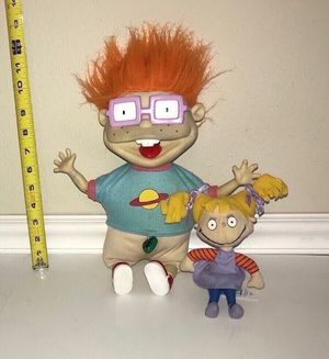 Vintage The Rugrats Plush Doll Toy - All this $5 for Sale in Port St. Lucie, FL