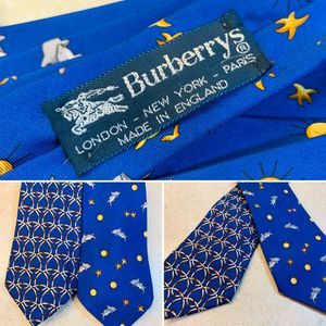 Vintage Burberry 100% Silk Neckties 2pc Lot $15.00 for Sale in Portland, OR