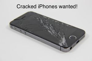 Wanted older cracked iPhones for Sale in Lexington, KY