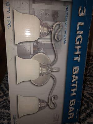 3 light - light fixture BRAND NEW for Sale in Garden Grove, CA