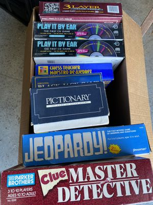 Lot of classic board games ($12)- firm for Sale in Grand Prairie, TX