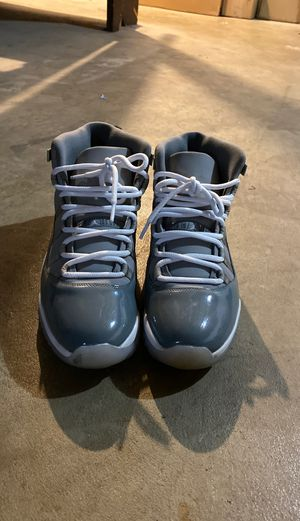 Jordan Cool Gray 11's Size 10.5 for Sale in North Canton, OH