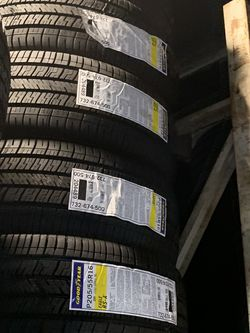 New Goodyear 205/55/16 for Sale in Huntington Park,  CA