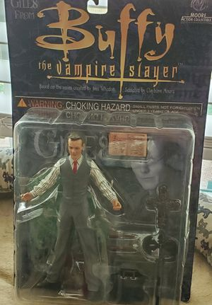 Buffy the Vampire Slayer Action Figure-Giles for Sale in San Antonio, TX