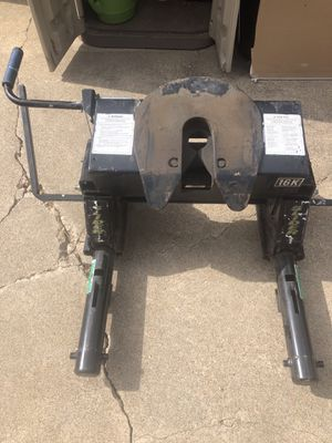 5th Wheel Hitch & Adapter for Sale in Fort Worth, TX