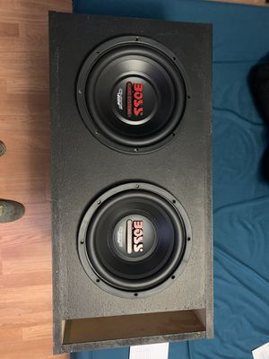 Boss subs in ported box for Sale in Stafford, VA