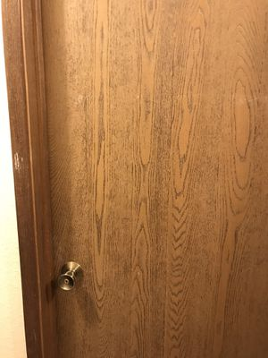 Door with frame and the mirror for Sale in Kent, WA