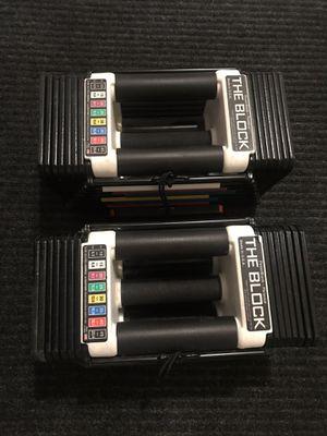 Dumbbells powerblock 5-45lbs for Sale in Oakland Park, FL