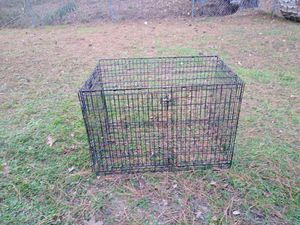 XXL Dog Crate without Pan 80$ (fits dogs 90lbs or more comfortably) for Sale in Conley, GA