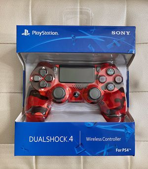 Red Camouflage DualShock 4 PS4 Controller for Sale in Corona, CA