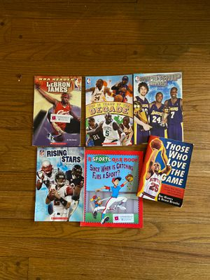 6 Children's books, sports themed for Sale in New Britain, CT