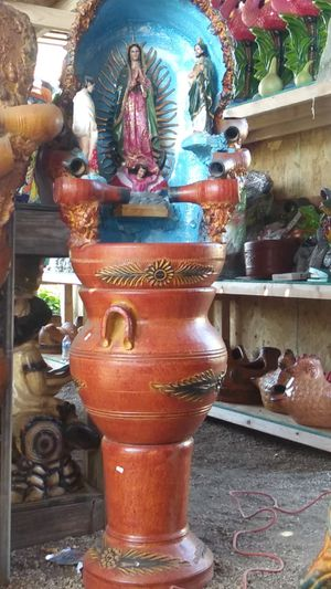 Virgen de Guadalupe fountain| 3 piece for Sale in Bloomington, CA