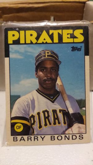 1986 Barry Bonds #11t baseball card for Sale in Columbus, OH