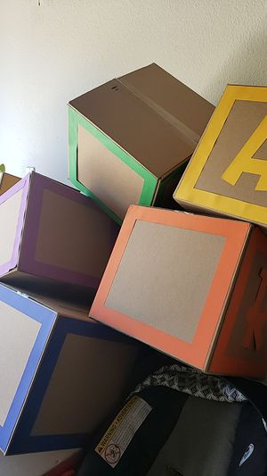 Toy story boxes (blocks) for Sale in San Diego, CA