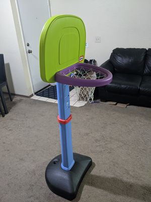 Little tikes adjustable basket ball set for Sale in San Diego, CA
