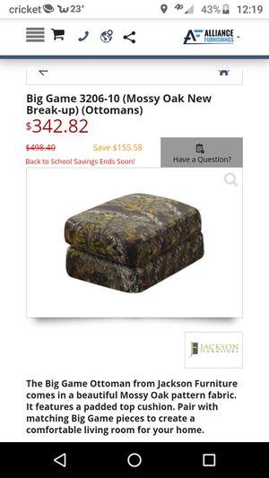 MossyOak Camouflage Ottoman for Sale in Winslow, IN