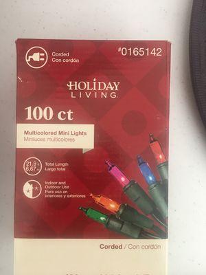 100 mini lights for Sale in Roseville, CA