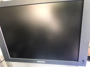 """Tv for car or boat or RV or house! Monitor 15"""" 12v dc or 110 ac for Sale in Fort Lauderdale, FL"""