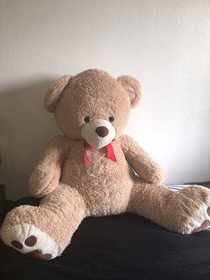 Big Brown Stuffed Teddy Bear for Sale in Los Angeles, CA