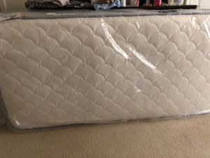 Band new twin mattress set including bed frame for Sale in Gaithersburg, MD