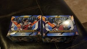 Nfl blaster box sealed brand new x2 cards for Sale in Bartlett, IL