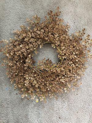 Gold Glitter Wreath for Sale in Gaithersburg, MD