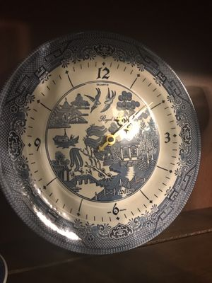 Blue Willow Antique Clock for Sale in Phoenix, AZ